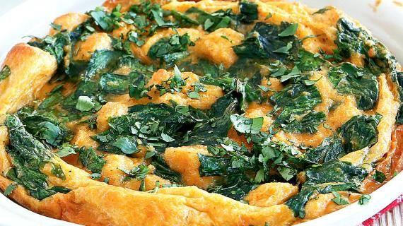 Запеченный зеленый омлет. Пошаговый рецепт с фото, удобный поиск рецептов на Gastronom.ru