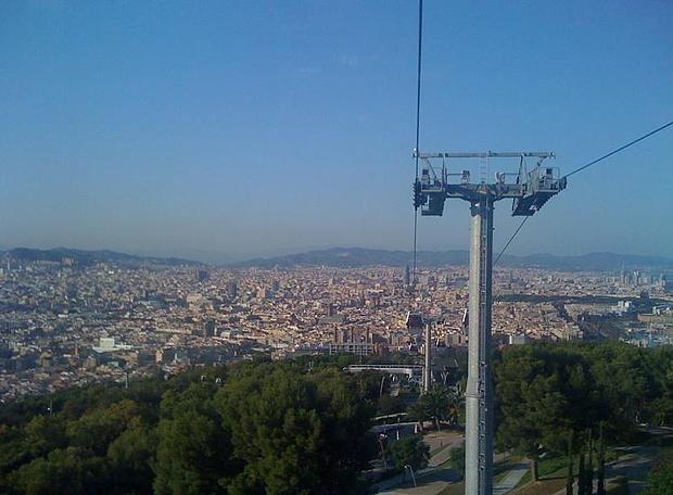 Барселона. Гора Монжуик