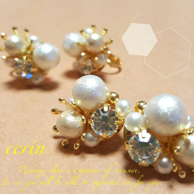 ♡web shop♡ http://shop.iichi.com/ecrin ご注文ございましたら、 コメント&DMでもご利用可能です(ノ゚∀゚)ノ ♡Facebook♡ 『ecrin』 ♡instagram♡ 『ecrin jewelry』or『sh0517ko』 ♡Pinterest♡ 『ecrin jewelry』 * #ecrinjewelry #ecrin #handmade #handmadeaccessories #handmadejewelry #accessory #jewelry #cute #cool #bijou #wedding #vintage #design #candy #ハンドメイド #ビジュー #パール #ヴィンテージ #ピアス #イヤリング #ネックレス #イヤーカフ #ブレスレット #可愛い #お上品 #ジュエリー #アクセサリー #ブライダル #結婚 #kaumo
