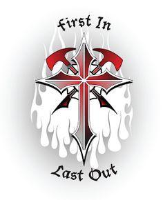 maltese cross tattoos firefighter | Firefighter Tattoo