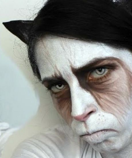 10 Awesome Halloween Makeup Tutorials, From Cute To Creepy #refinery29