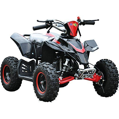 Rebo LT50A Mini Petrol Quad Bike ATV 50cc Engine Dirt Bike Ride On - 4 Colours (Red)