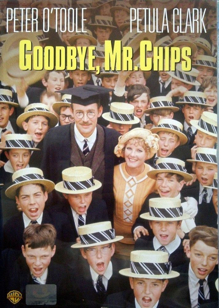 Goodbye, Mr. Chips (DVD) Peter O'Toole, Petula Clark, Classic Musical Drama