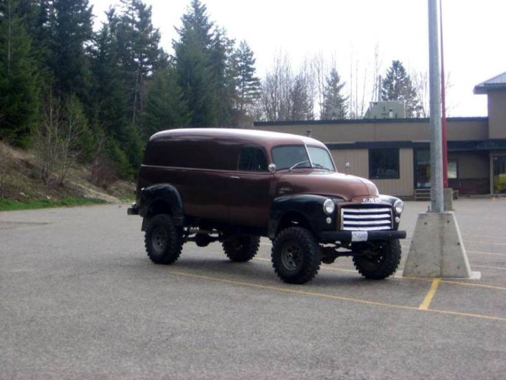 1954 Klasik Chevrolet 4 x 4