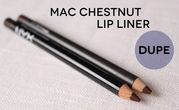 If you don't want to pay full price for MAC Chestnut Lipliner, You can purchase this dupe for a quarter of the price.