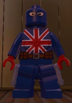 James FALSWORTH (UNION JACK)   Earth 13122   Lego Marvel SUPER HEROES
