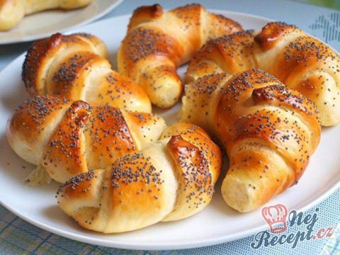 Makovky - skvělé pečivo ke snídani nebo svačinu