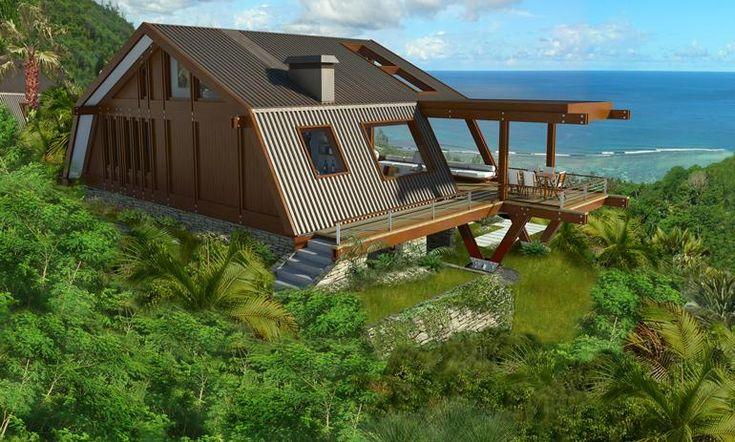 case moderne din lemn modern wood house plans 7