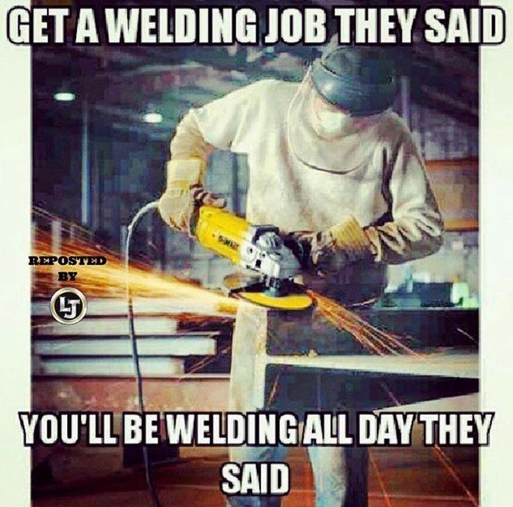 @ljwelding not just amazing products great memes as well! . . . #weld #welding #welds #airgas #ljwelding #fabrication #metalfab #grind #grindingsucks