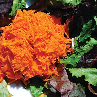 Calm Carrot Salad - 10 Low-Fat Recipes That Reduce Reflux - Health Mobile