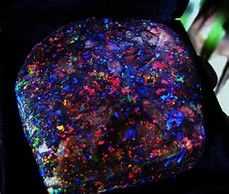 And Opal is the lobster claw of precious stone.