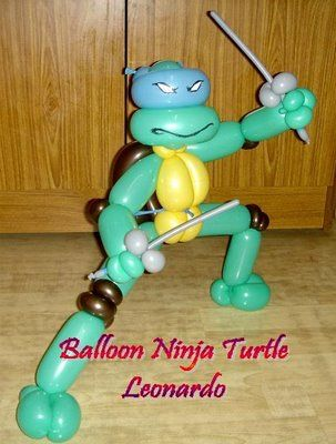 Make a balloon Ninja Turtle (step by step) - Teenage Mutant Ninja Turtles - Zimbio