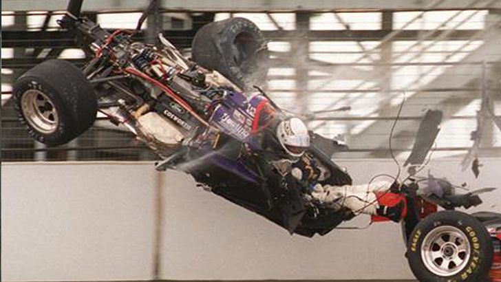 Stan Fox Indy 500 crash in 1995. -woah!!!