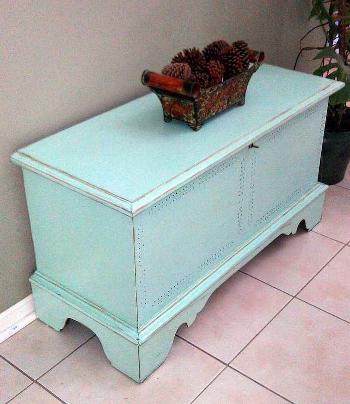 Project Furniture Refinishing Hope Chest Diy Repurposed