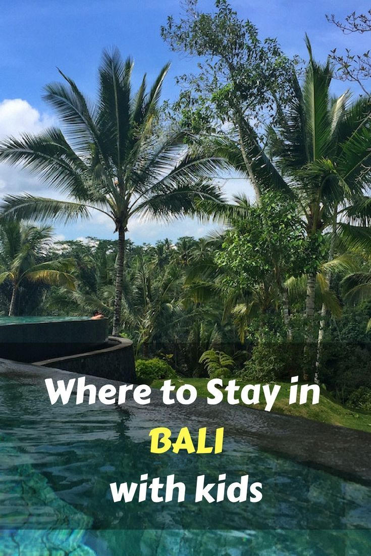 Bali is the perfect destination for a family vacation. We round up the selling points of each area in Bali to help you decide where to stay in Bali with kids. #bali #indonesia #travel #familytravel