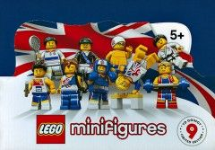 8909-18: Team GB Minifigures - Sealed Box