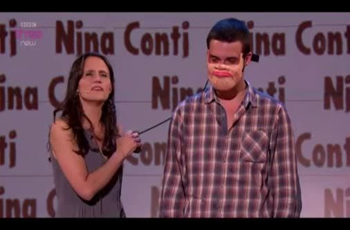 Probably One Of The Best Ventriloquist Performances Ever: Nina Conti