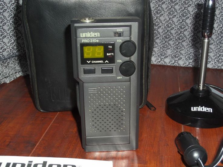 $40 Vintage Uniden Pro310e Portable/ Mobile 40 Ch Emergency Citizens Band Radio  #Uniden #CB #radio #electronics #radio #ebay #shop #fathersday #dad #giftidea #CBradio