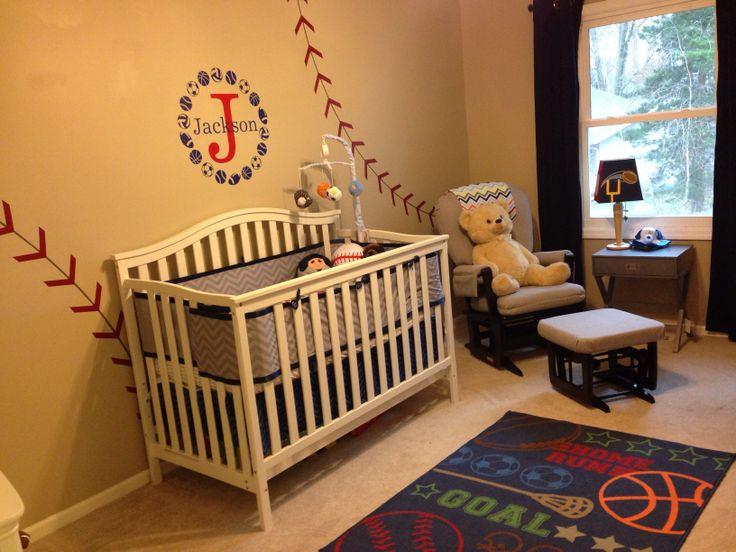 Sports Nursery Baby Boy