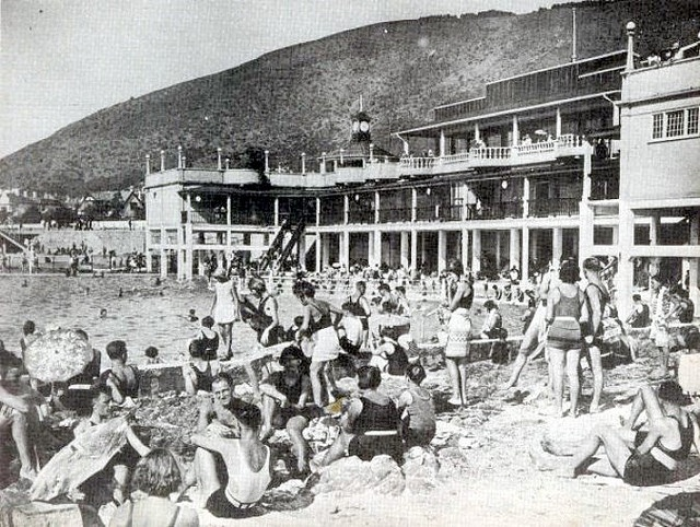 History - Sea Point Swimming Baths 1930