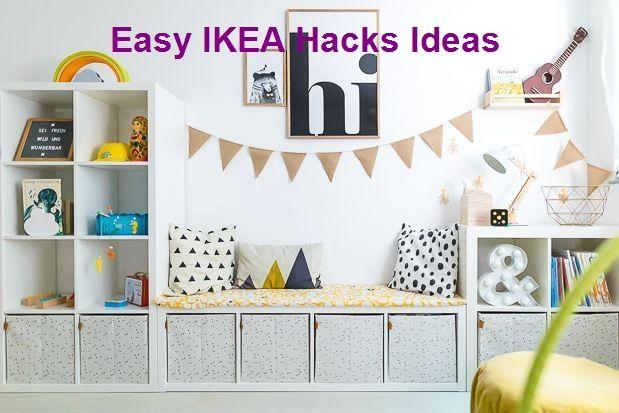 Easy IKEA Hacks Ideas #furniturehacks #ikeas