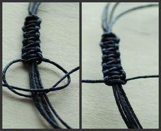 Wish Bracelet Tutorial   sliding knot tutorial.