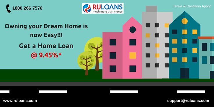 Own the home meant for you! Get lowest interest rates on #HomeLoanfrom #Ruloans. For more information visit - https://www.ruloans.com/home-loan/new-home-loan
