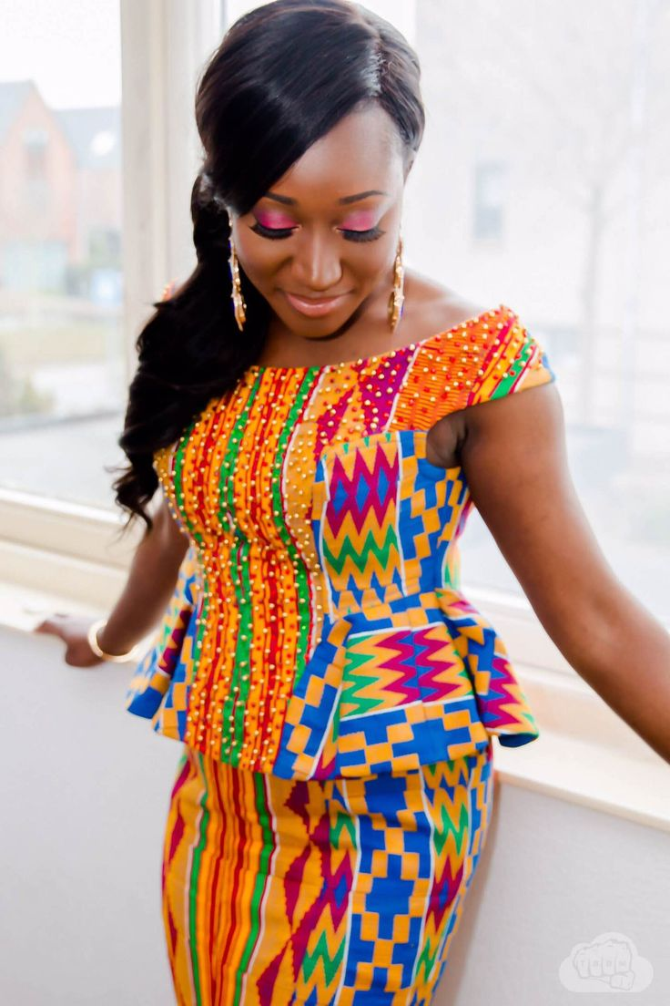 Evans Erasmina A Special Connection I Do Ghana Fabulous Kente Pinterest Ghana