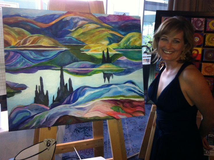 2013 Art Auction Grade 2 & My favourite artist!