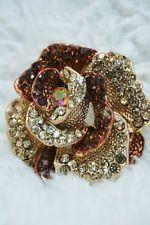 Stunning rhinestone/crystal brooch from £0.99