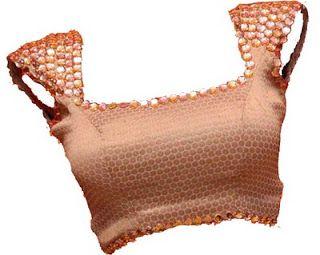 32 princess cut designer front and back saree blouse design
