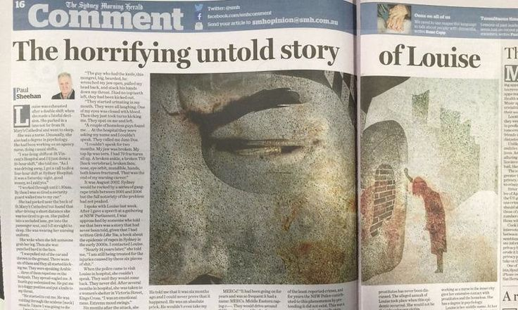 Fairfax was so proud of Sheehan's column it printed letters the next day praising his journalism. Now they seem frozen in damage control mode