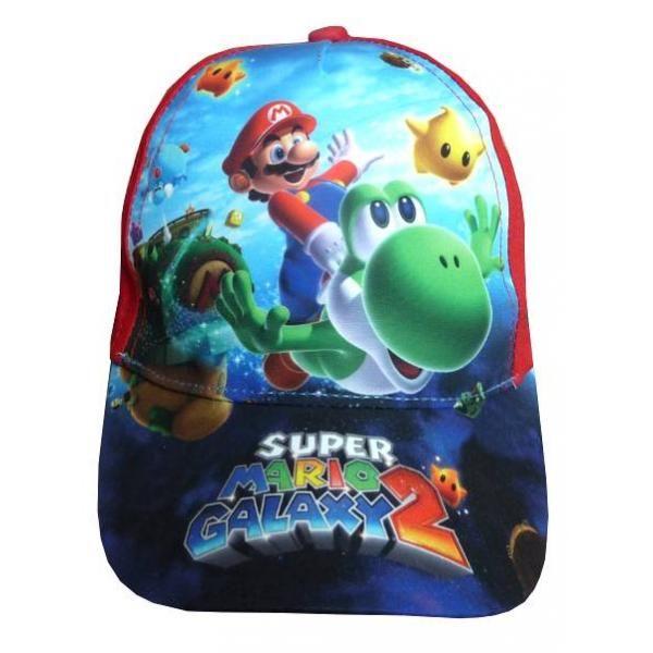 Casquette Super Mario Galaxy 2 - rouge