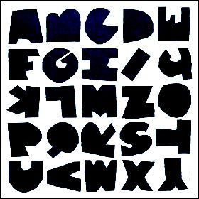 414 best alphabet charts images on pinterest letters graphics ripped typealan fletcher sciox Images