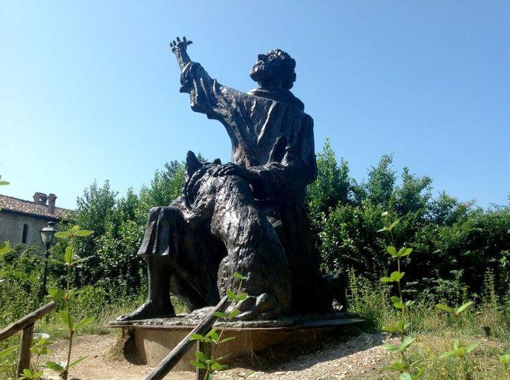 Statua di San Francesco - Gubbio