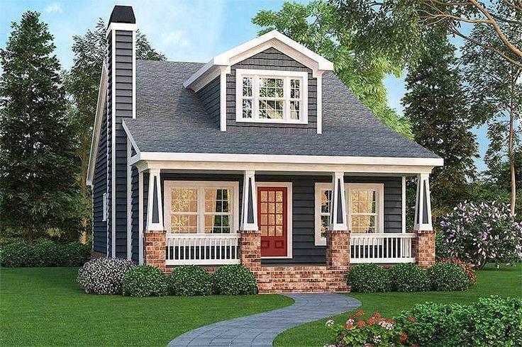 Craftsman Bungalow With Optional Bonus - 75499GB | Architectural Designs - House Plans