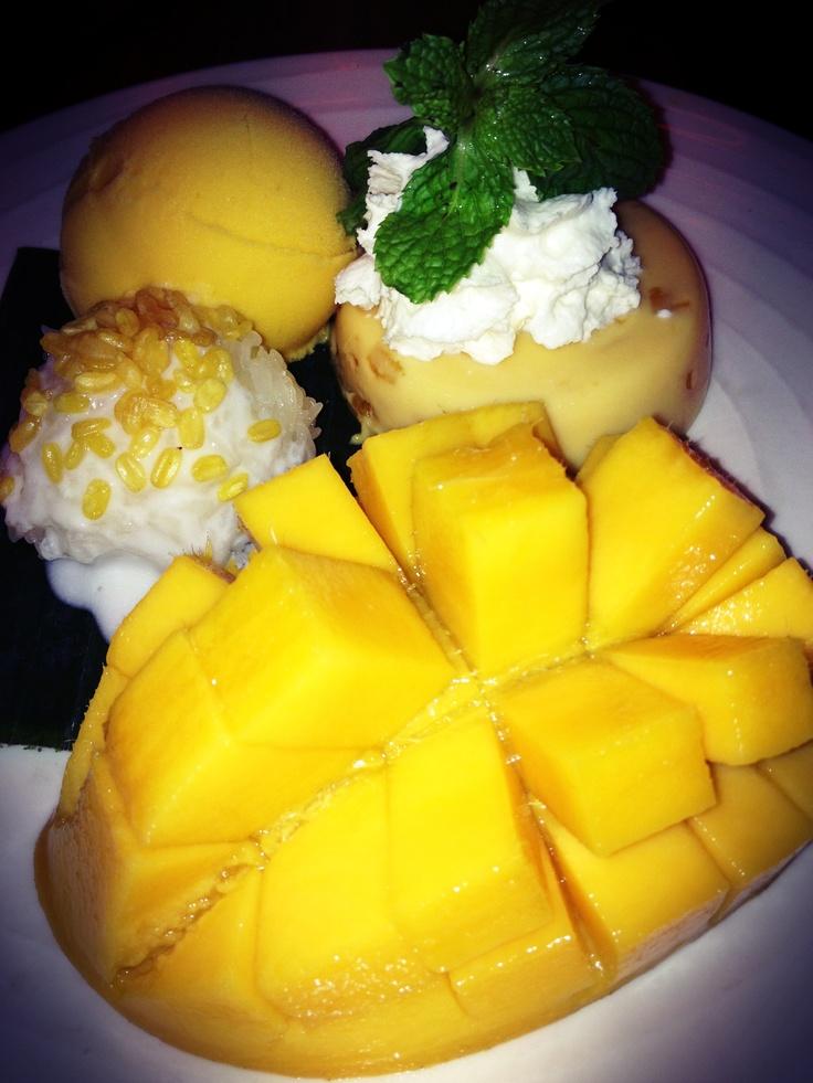 Mango Tango Special: Mango Sticky Rice, Pudding and Ice Cream
