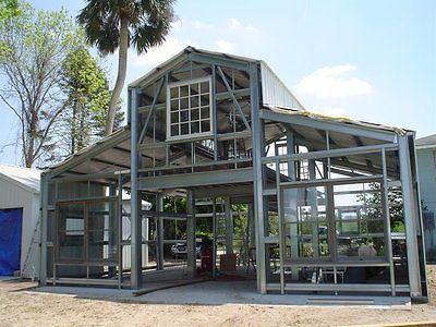 Steel Metal Custom Home Building Prefab Kit