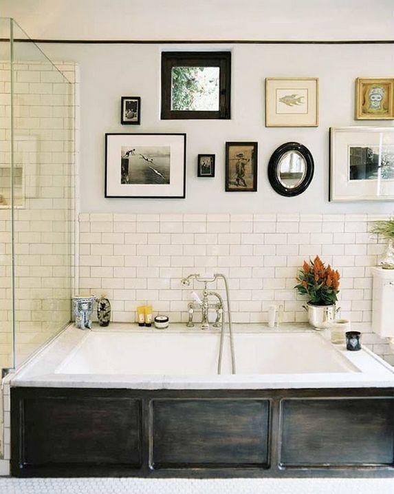 17 meilleures id es propos de cadres de miroir en carrelage sur pinterest encadrer un miroir. Black Bedroom Furniture Sets. Home Design Ideas