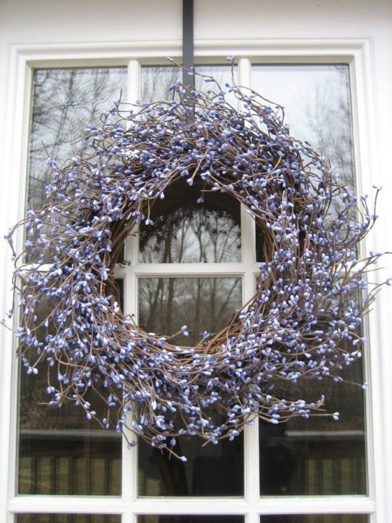 Lovely Lavender Berry Wreath for Spring Summer door bloomingcouture