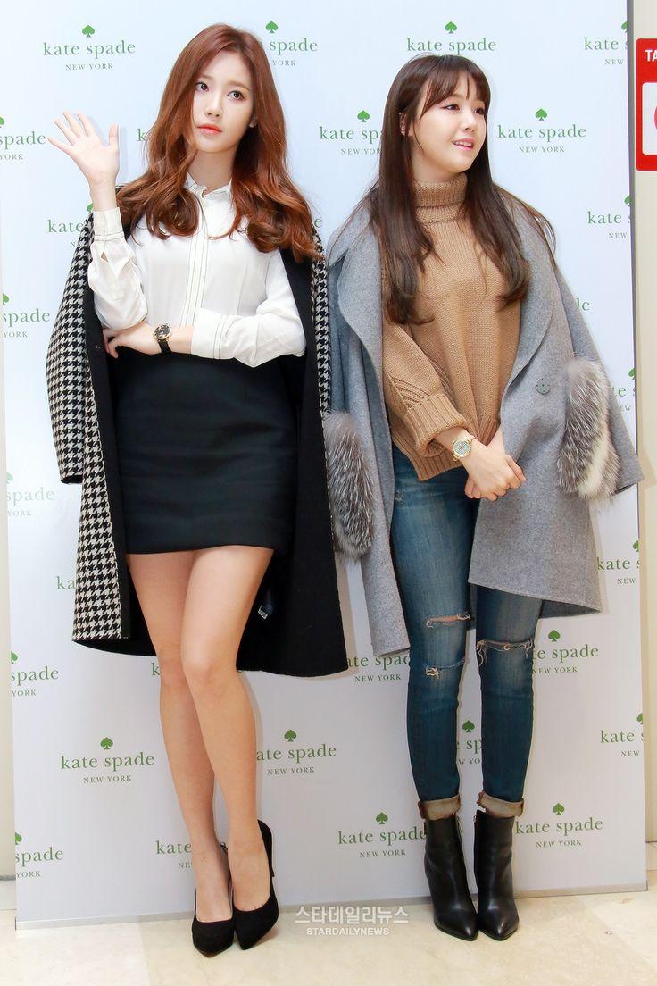 Girls Day Yura and Minah