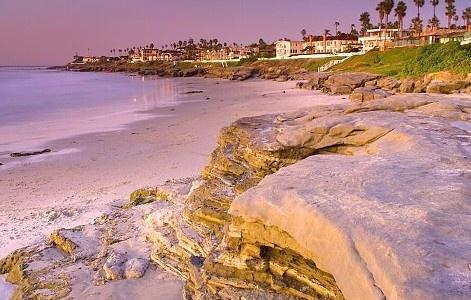 Windensea beach, La Jolla, California