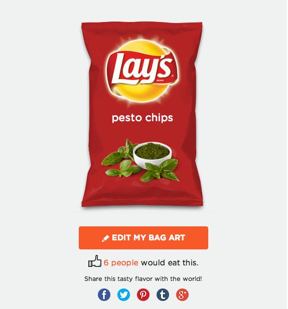 Pesto and Chips on Pinterest