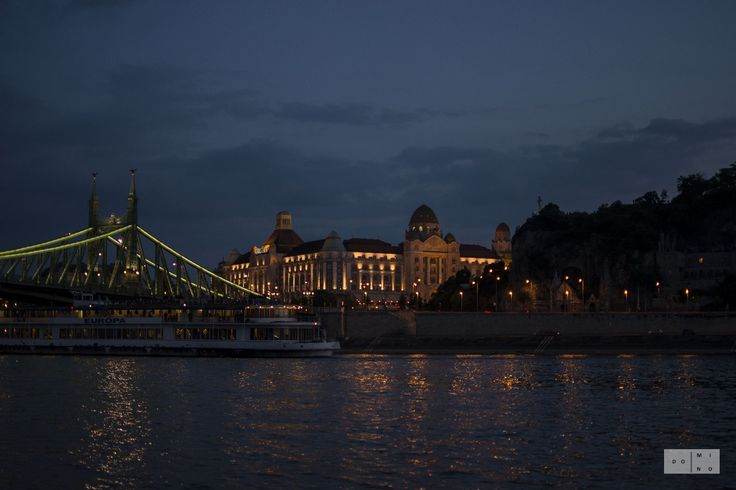 Danube at night