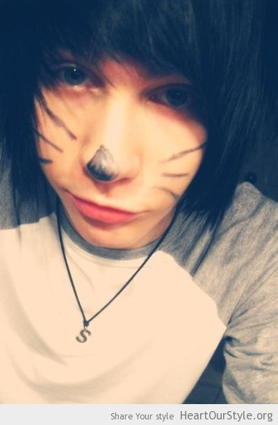 Meow? - Heart Our Style - alex autopsy cute emo goth meow scene