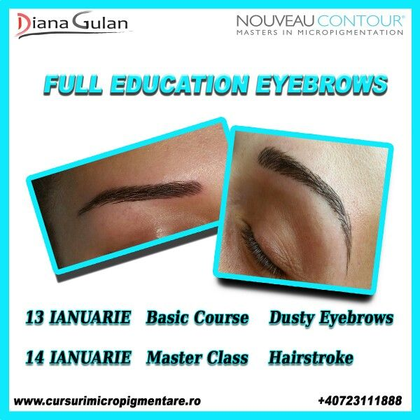 Permanent make-up course