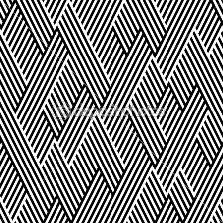 motif en zigzag avec ligne noir et blanc illustration. Black Bedroom Furniture Sets. Home Design Ideas