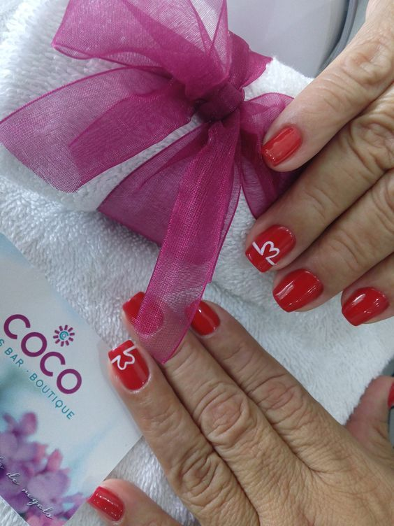 Heart rate! Gelish design: