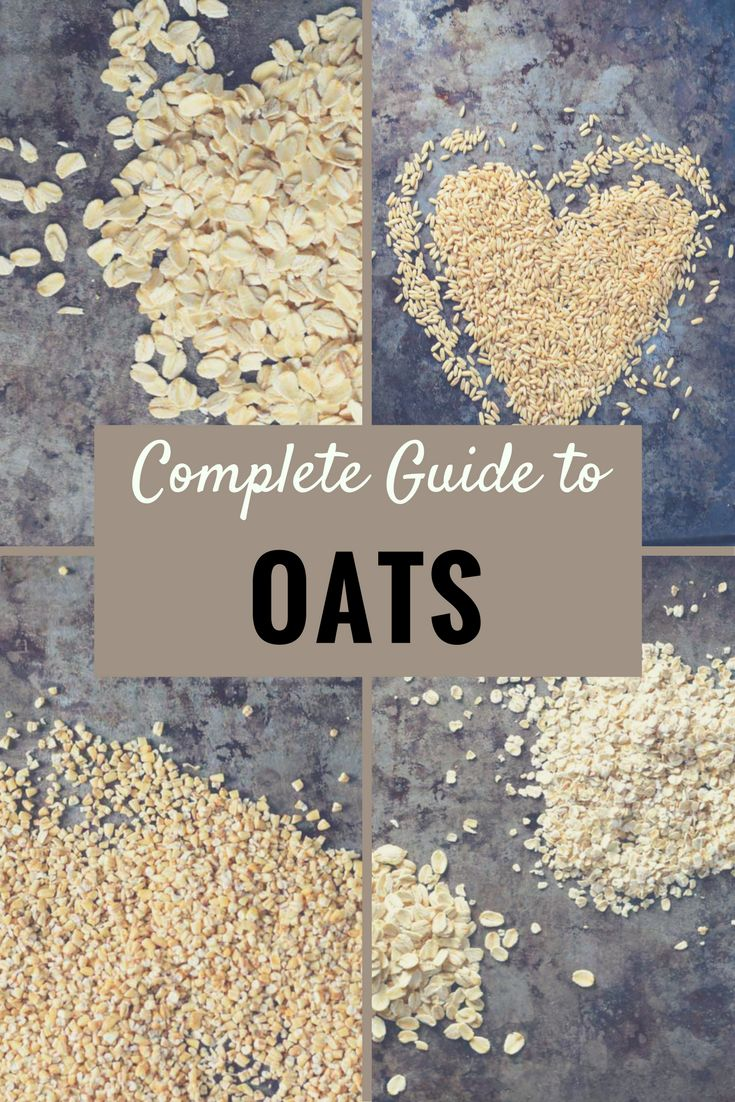 Complete Guide to Oats - Nutrition and preparation information on every kind of oats: Oat Groats, Steel Cut Oats, Rolled Oats, Old Fashioned Oats, Instant Oats
