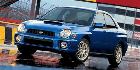 2015 Subaru WRX STI and 2002 Subaru WRX